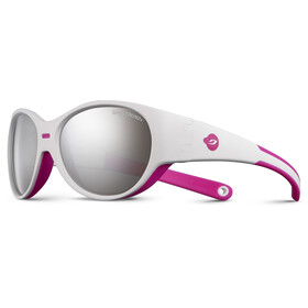 Julbo Kids 3-5Y Puzzle Spectron 3+ Sunglasses White/Fluorescent Pink-Gray Flash Silver